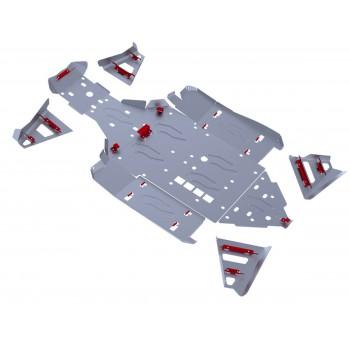 Комплект защит днища Rival для BRP (Can-Am) Maverick 1000 2013-, 444.7207.2