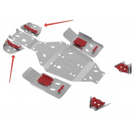 Защита задних рычагов Rival для Stels ATV 500 GT 2010-, 4.6707.3-5