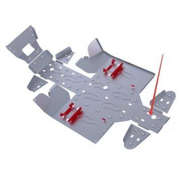 Защита заднего редуктора Rival для Stels UTV 800 Dominator 2012-2013, 4.6713.1-3