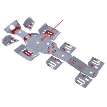 Защита картера двигателя Rival для Polaris Sportsman 6*6 800 EFI BIG BOSS 2011-2014, 4.7411.1-2