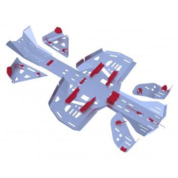Комплект защит днища Rival для BRP (Can-Am) Renegade G2 ATV 2013-, 444.7221.1