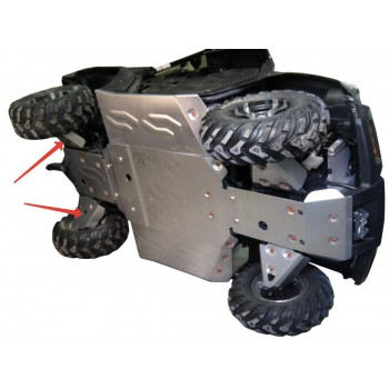 Защита задних рычагов Rival для CF Moto UTV 500-3 2009-, 444.P6819.1-5