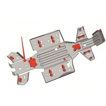 Защита заднего редуктора Rival для CF Moto ATV 2011-, CF.0021-3