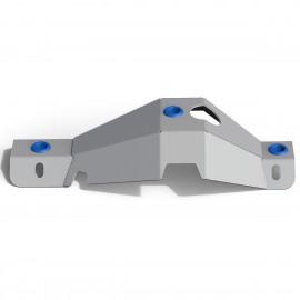 Защита дифференциала заднего моста Rival усиленная алюминий 6 мм для Suzuki Jimny NEW 2019 - 2333.5523.1.6