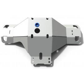 Защита дифференциала заднего моста Rival для Volkswagen Amarok, V - 2.0d; 3.0d, алюминий 6 мм 2333.5876.1.6
