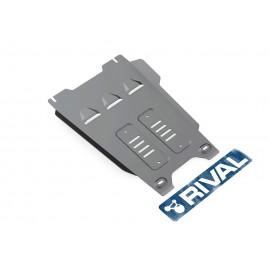 Защита КПП Rival для Isuzu D-Max 2012-н.в., алюминий 6 мм, с крепежом, 333.9103.1.6