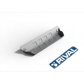 Защита рулевых тяг Rival для Jeep Wrangler JK 3/5-дв. АКПП 2007-2018, алюминий 6 мм, с крепежом, 333.2718.1.6