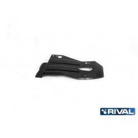 Защита КПП и РК (сталь) Rival для УАЗ Патриот 222.6311.1