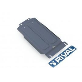Защита КПП Rival для Infiniti QX56 2010-2013/QX80 2013-н.в./Nissan Patrol 2010-н.в., алюминий 4 мм, с крепежом, 333.4123.1