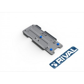Защита КПП Rival для Lexus LX 2008-2015 2015-н.в./Toyota Land Cruiser 200 2007-2015 2015-н.в., алюминий 4 мм, с крепежом, 333.9507.1